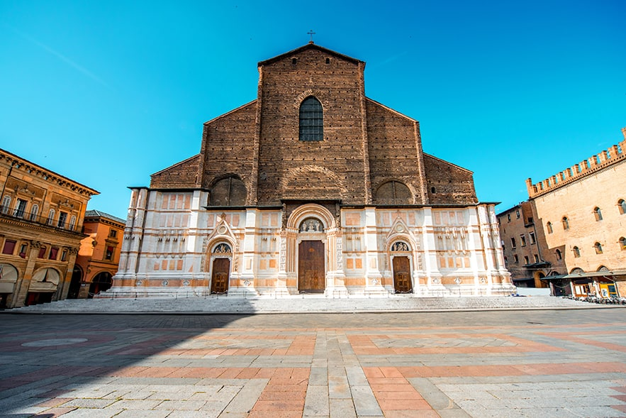Basilica of S. Petronio and the Music Archive <br> <br> Ottobre 2019