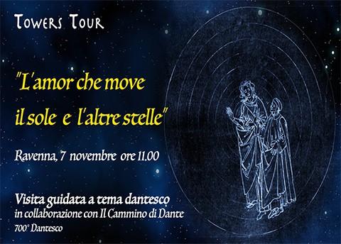 L'AMOR CHE MOVE IL SOLE E L'ALTRE STELLE<br><br> 7 Novembre Ore 11.00
